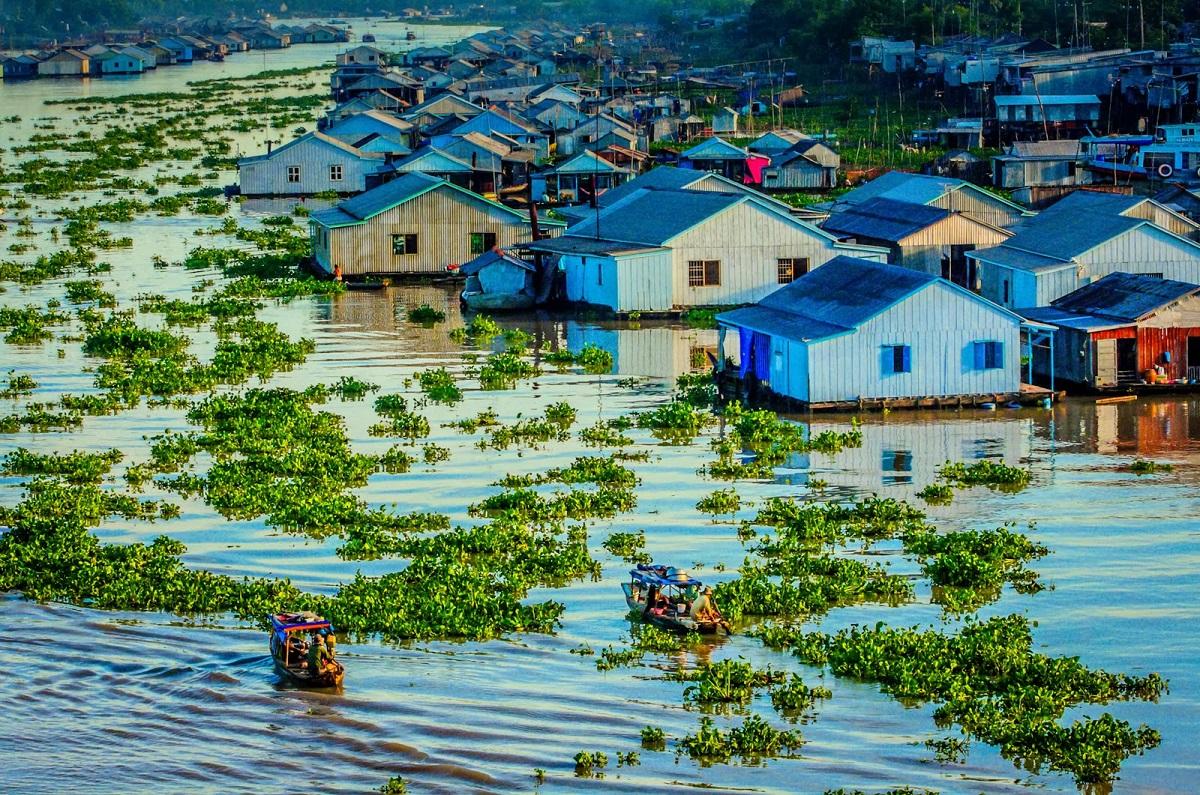 Làng Nổi Cá Bè Châu Đốc - Kinh nghiệm du lịch Làng nổi Châu Đốc