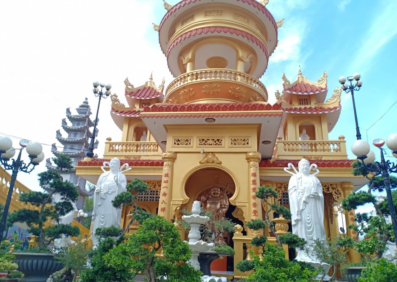 Trong chiến tranh chùa Phước Thành là nơi các chiến sĩ cách mạng ẩn náu hoạt động