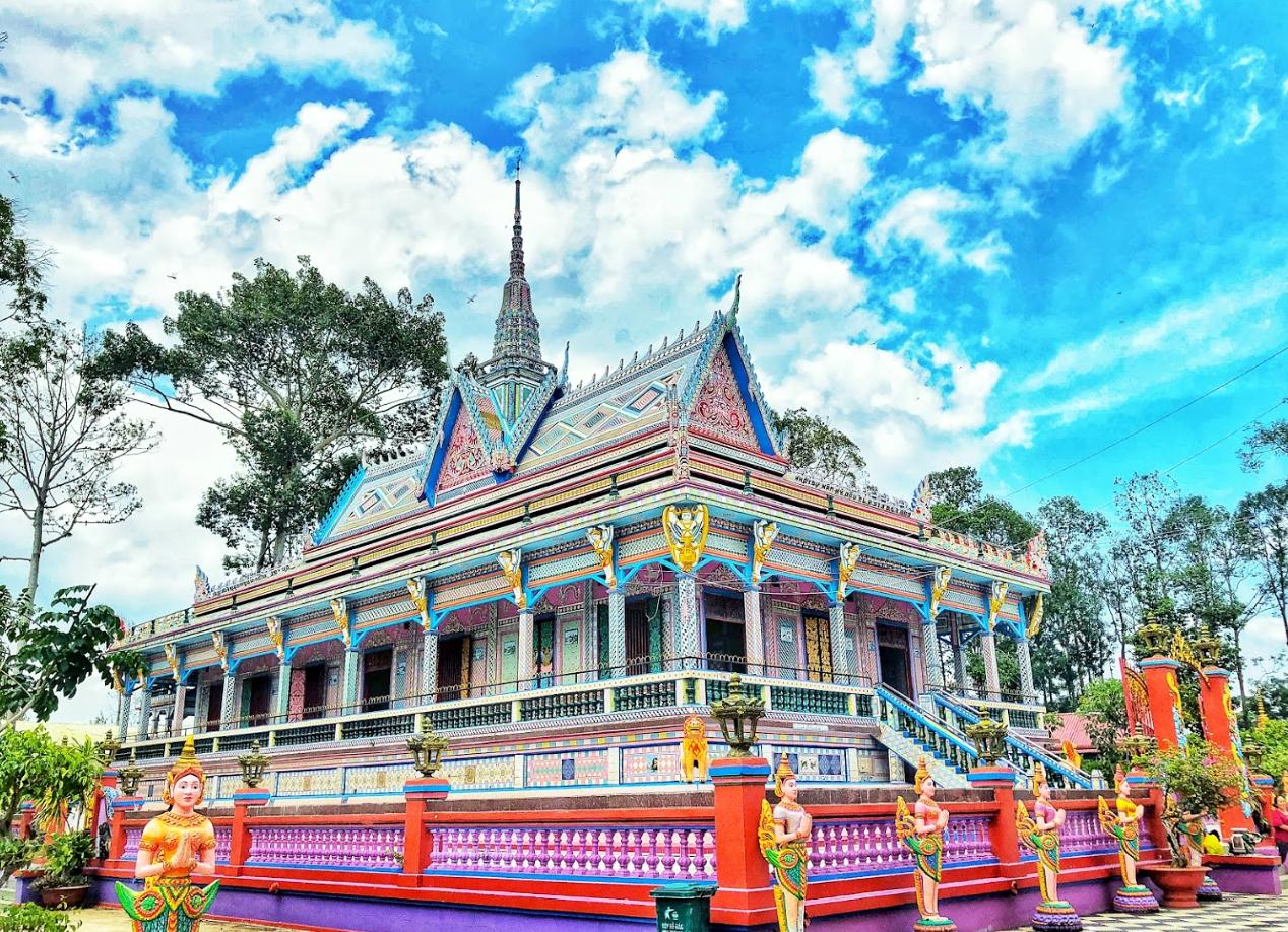 Chùa Chén Kiểu - Ngôi chùa Khmer độc đáo ở Sóc Trăng