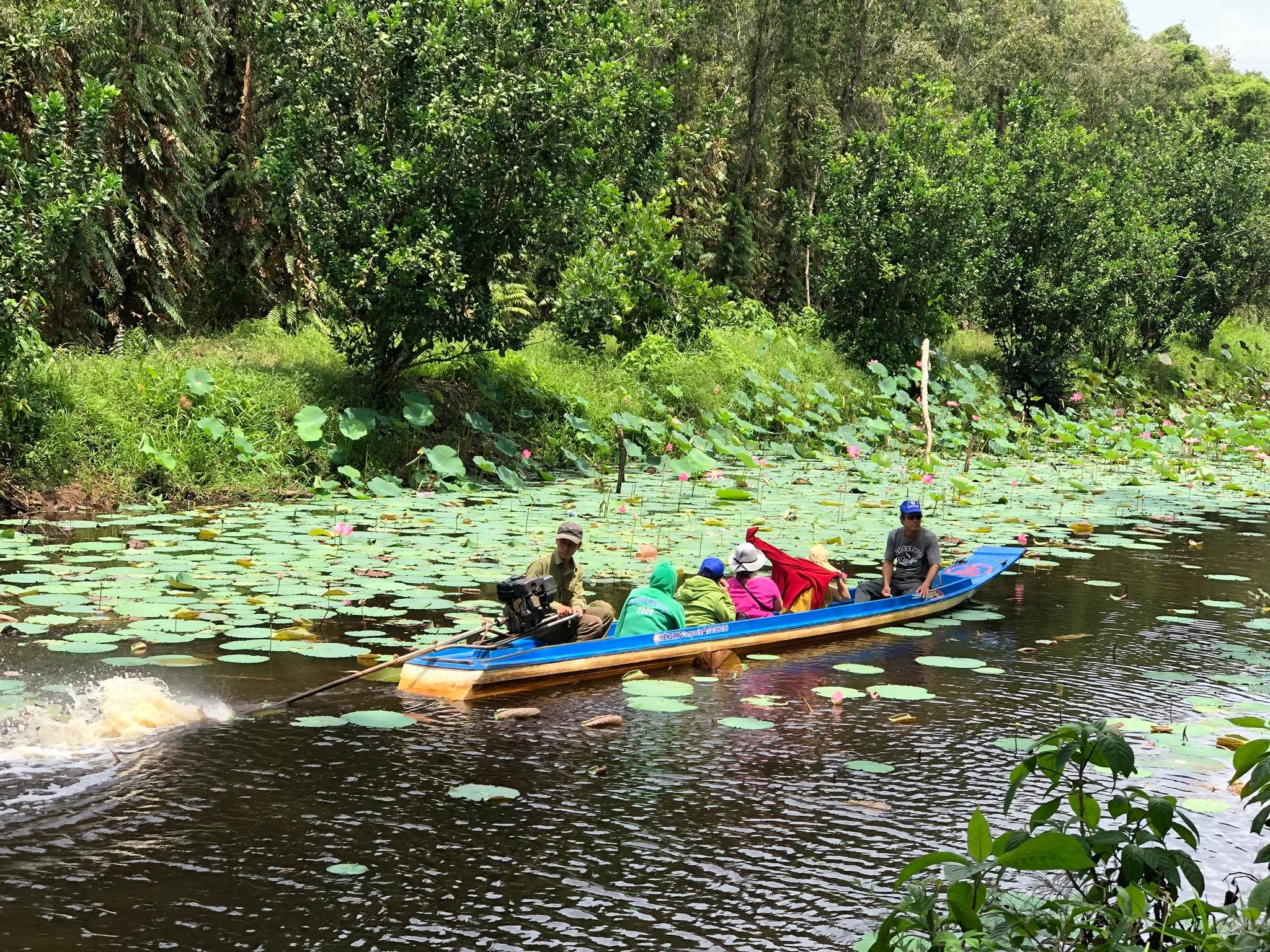 Khám phá Khu Du lịch Sinh Thái Sông Trẹm - Cà Mau